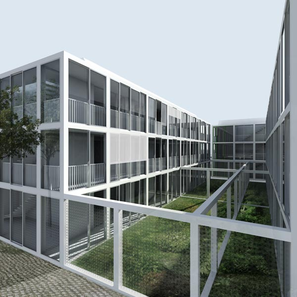 550 logements, Genève